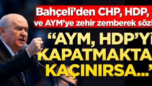 Devlet Bahçeliden Anayasa mahkemesine sert sözler !